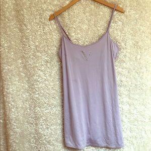 Victoria's Secret Nightgown Chemise Purple M